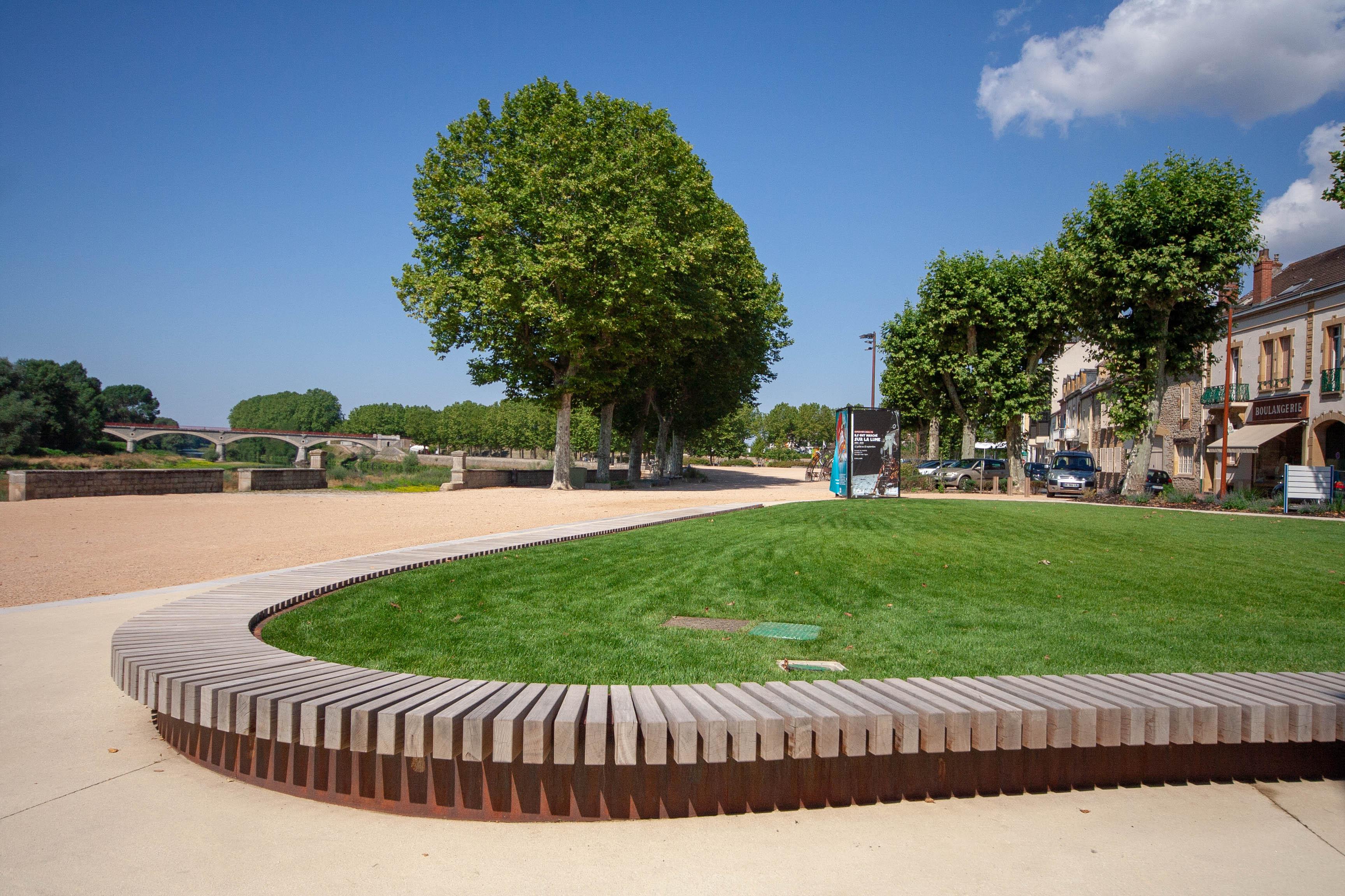 Promenade de la Loire - Digoin